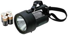 Ручной взрывобезопасный фонарь Wolf H-4DCA