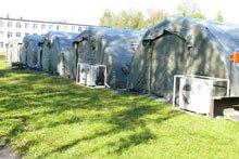 Наружный блок кондиционера для палаток
