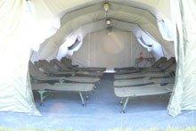 Освещение палатки