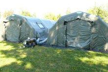 Отопление палаток