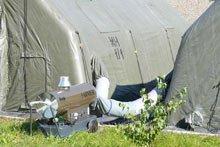 Палатки, отопление
