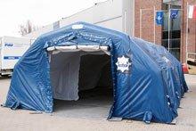 Полиция, палатки